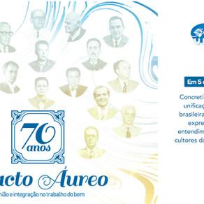 Movimento Espírita inicia campanha pelos 70 anos do Pacto Áureo
