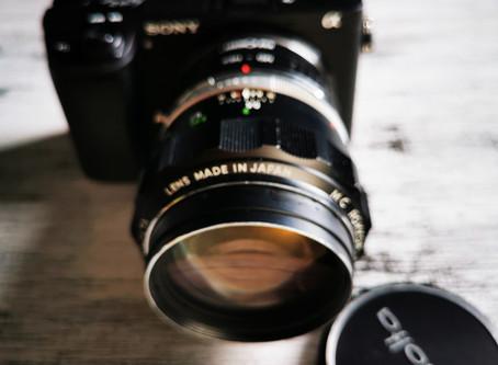 Minolta Rokkor 58mm 1.4
