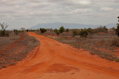 Kenia Tsavo Ost -Der Weg