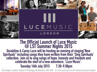 London Launch of Luce Music