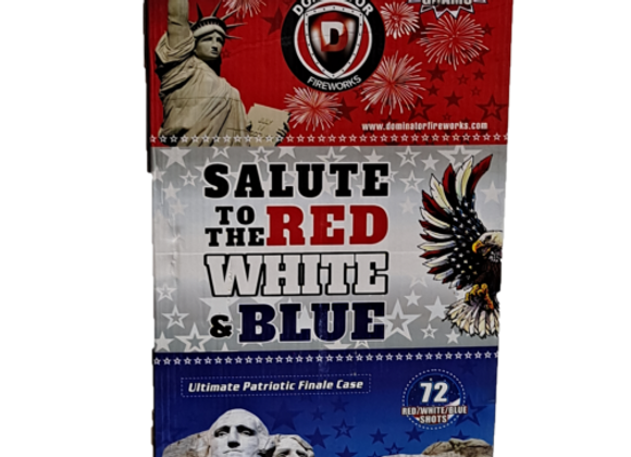 SALUTE TO THE RED, WHITE, AND BLUE