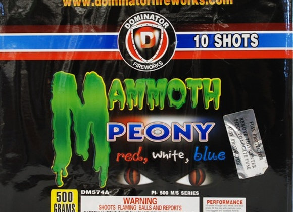 MAMMOTH PEONY 10 SHOT