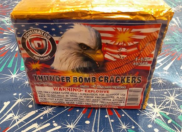 THUNDER BOMB CRACKERS