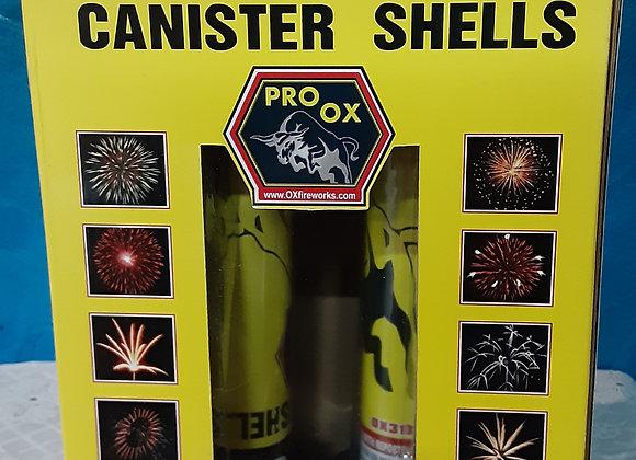 PRO OX-MINI MAX CANISTER SHELLS
