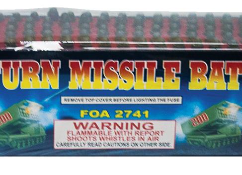 200 SHOT SATURN MISSILE BATTERY