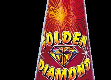 #3 GOLDEN DIAMOND CONE
