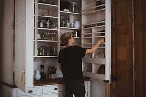 Feeling Fabulous Pantry Clean-Up, Personal Webcam Session to Clean Out Pantry and to fill it with healthy plant-based foods