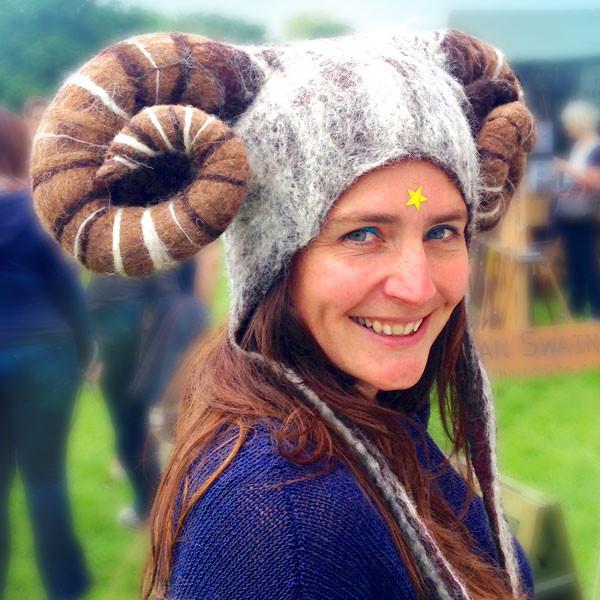 Aries Ram Headdress