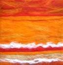 Mini Orange Canvas Art