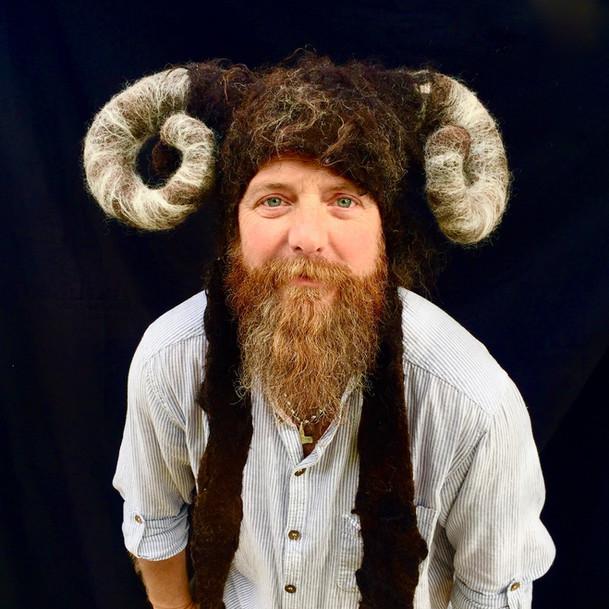 Aries Ram Costume Headdress