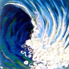 Felted Wave Art