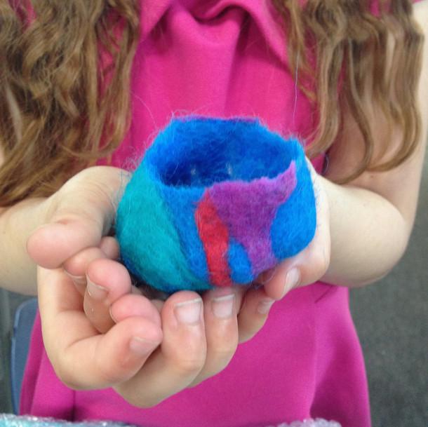 Blue pot making workshop