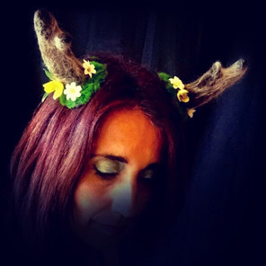 fairy woodland costume antlers