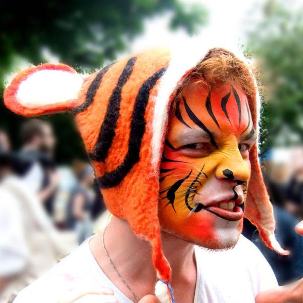 Tiger Animal Hat