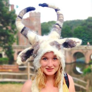 Capricorn Goat Costume Headdress