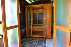 Full spectrum infra red sauna