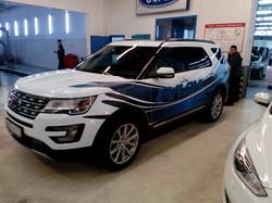 Изготовление  и монтаж рекламы на кузов автомобиля в Москве недорого