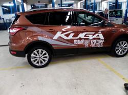 Брендирование автомобиля Ford kuga