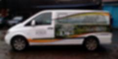 Реклама на автомобиль мерседес виано