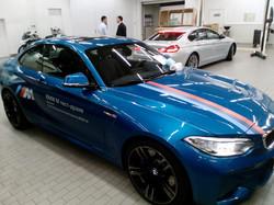 Брендирование авто BMW M