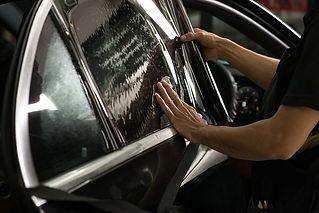 автомобиль стекла тонировка
