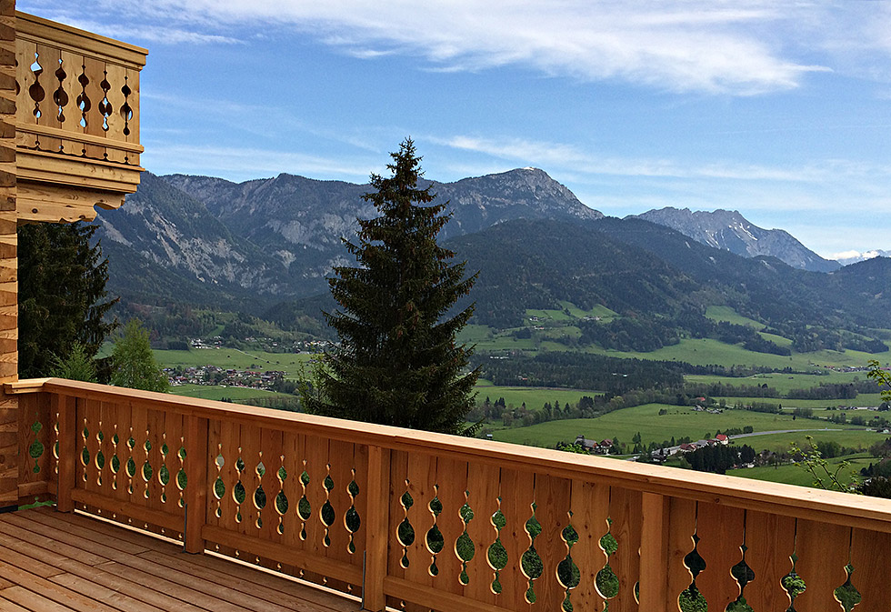 wunderschönes unverbautes Panorama