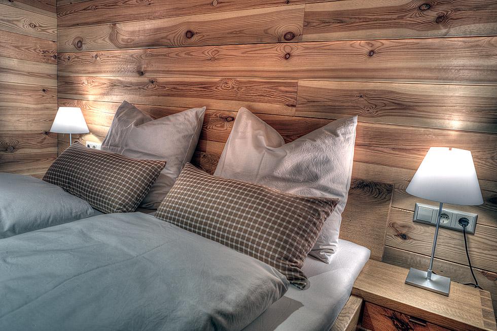 Schlafzimmer in Eiche