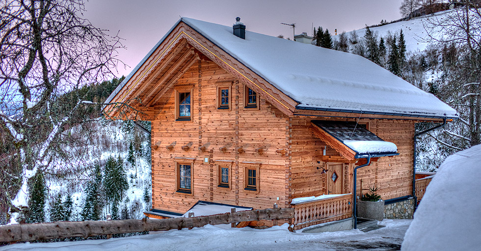 """Chalet4You"" im Winter"