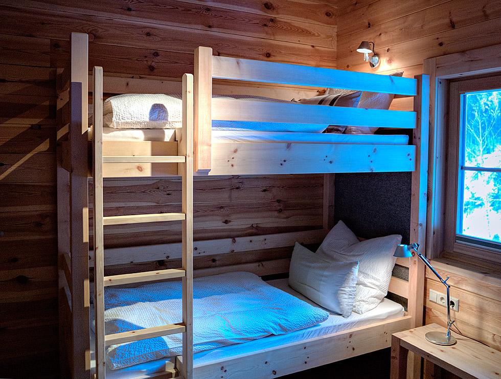 Doppelbett Zirbenzimmer