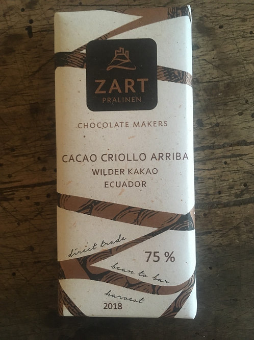 Cacao Criollo Arriba 75%