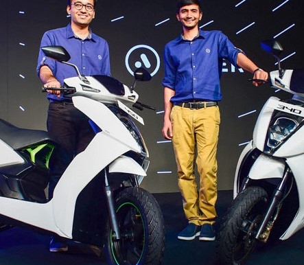 Ather Energy Raises $35 Mn In Round Led By Sachin Bansal