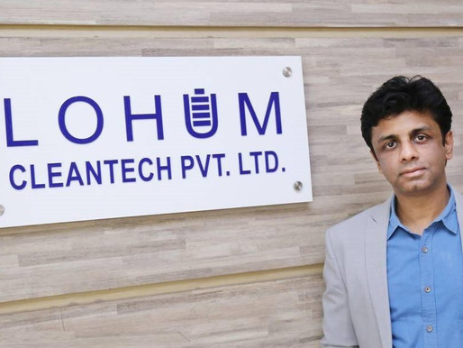 Battery tech startup Lohum raised Rs 51Cr, looks to raise Rs 150Cr more
