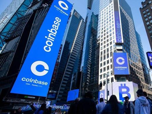 Coinbase valued at $100 Bn in Nasdaq debut