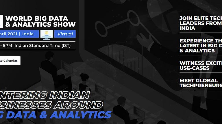 World Big Data & Analytics Show - India
