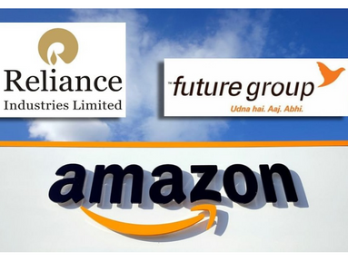 Amazon Moves To Challenge Delhi HC Order On Reliance-Future Deal