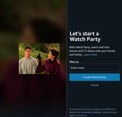 Amazon adds Prime Video Watch Party feature for India