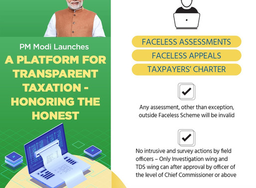 PM Modi launches 'Transparent Taxation' portal, a new faceless tax system