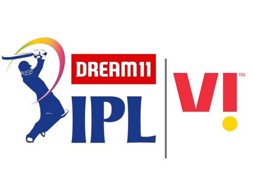Vi' Becomes Co-presenting Sponsor Of Dream11 IPL 2020