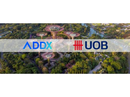 UOB and ADDX Collaborate On Sustainability-Linked Digital Bond