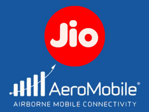 Jio Partners AeroMobile To Provide In-Flight Mobile Services