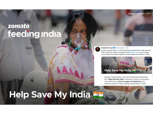 Zomato's Feeding India partners with Delhivery in fight against Covid-19