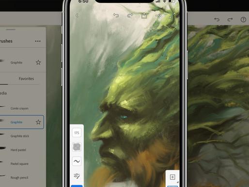 Adobe brings Illustrator to iPad and Fresco to iPhone