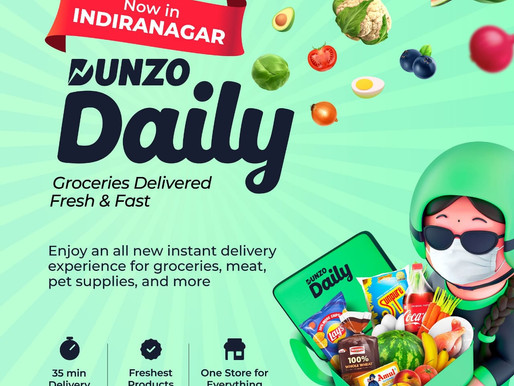 Dunzo launches dark stores service 'Dunzo Daily'