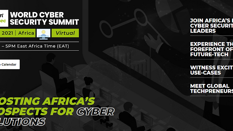 World Cyber Security Summit - Africa