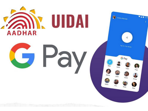 Google Pay's gains unauthorised access to Aadhaar details