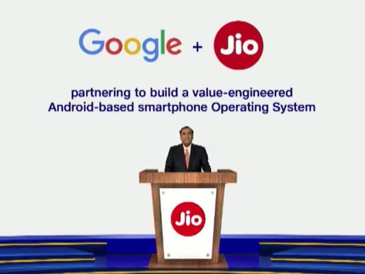 Reliance Jio and Google to launch 100 million low-cost phones