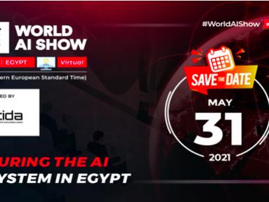 Egypt to Host the World AI Show Virtually