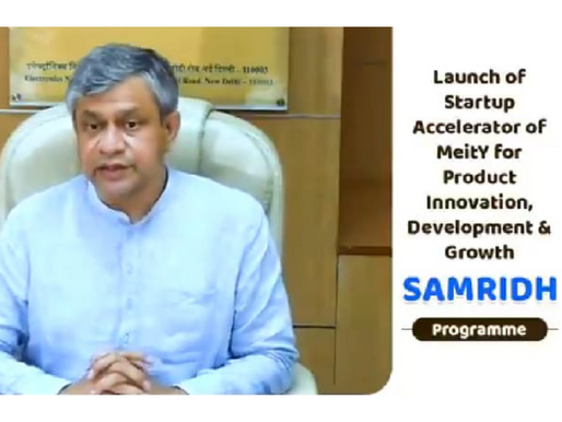 Govt launches SAMRIDH Scheme to help startups in the early stage
