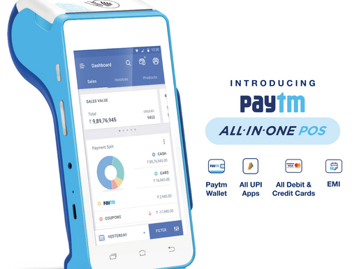 Paytm launches a smart PoS device to digitise small businesses