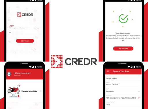 Used 2W Brand, CredR Launches CredR Care: Mobile App for On Demand Bike Servicing